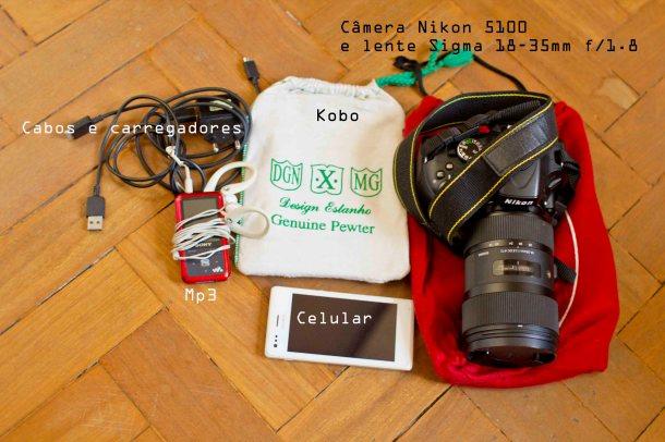 Viajando-barato-eletrônicos-mochila-viagem-mala-compacta-isso-aquilo-e-tal